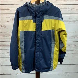 REI Full Zip Navy Outer Shell Jacket